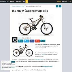 Ego-Kits va électriser votre vélo