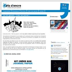Jets d'encre Kit «Créer son journal» lycéen