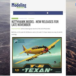 KittyHawk Model – New Releases for Late November