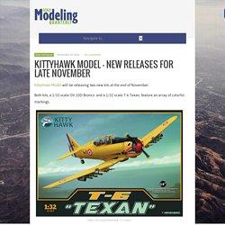 KittyHawk Model – New Releases for Late November