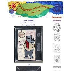 Kjersten Anna Hayes: Collage Children's Illustration