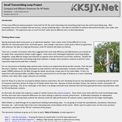 Small Transmitting Loop Project