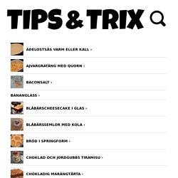 KLADDKAKA MED PEPPARKAKSDEG - Tips & Trix