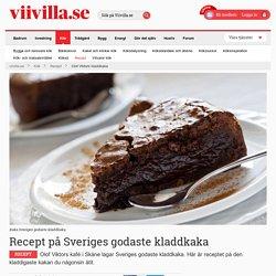 Kladdkaka recept – Sveriges godaste