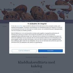Kladdkaksrulltårta med kakdeg - Fridas Bakblogg
