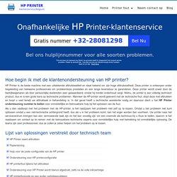 Hoe begin ik met de klantenondersteuning van HP printer?