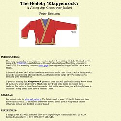 klappenrock instructions