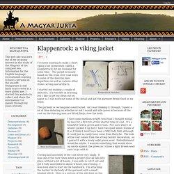 Klappenrock: a viking jacket - a magyar jurta