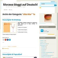 Morawa bloggt auf Deutsch!
