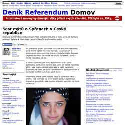 Klára Berg: Šest mýtů o Syřanech v České republice