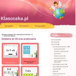 Klasoteka » Gry matematyczne dla klas 1-3