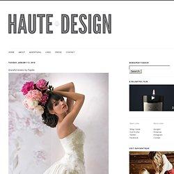 Haute Design by Sarah Klassen: Graceful Gowns by Papilio