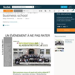 Klassentreffen - french business school