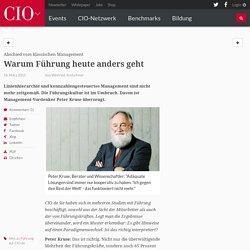 Abschied vom klassischen Management: Warum Führung heute anders geht - cio.de