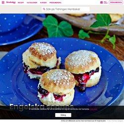 Klassiska engelska scones – recept