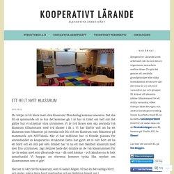 Ett helt nytt klassrum – Kooperativt Lärande