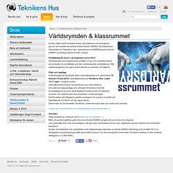 Rymden och klassrummet - fortbildning i Teknikens Hus, Luleå