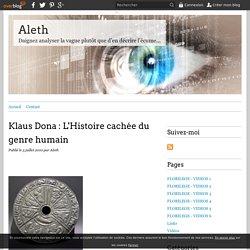 Klaus Dona : L'Histoire cachée du genre humain