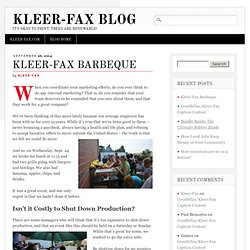 Kleer-Fax Barbeque