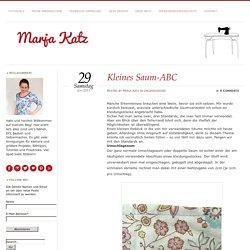 Kleines Saum-ABC - Marja Katz
