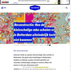 Hoe de kleinschalige mbo-scholen er in Rotterdam uiteindelijk toch niet kwamen