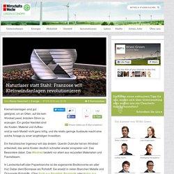 Naturfaser statt Stahl: Franzose will Kleinwindanlagen revolutionieren