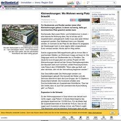 Kleinwohnungen: Wo Wohnen wenig Platz braucht - Immo: Region Süd - derStandard.at › Immobilien