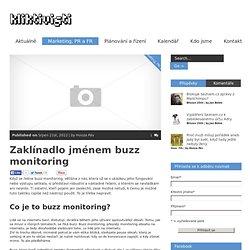 Zaklínadlo jménem buzz monitoring - Kliktivisti.cz - Český blog o využití nových médií pro nevládky