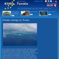 Climate change on Tuvalu