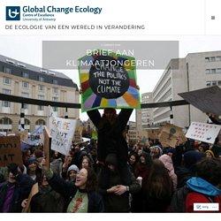 Brief aan klimaatjongeren – De ecologie van een wereld in verandering