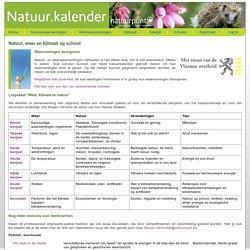 Natuur.kalender - Volg de klimaatverandering in jouw achtertuin!