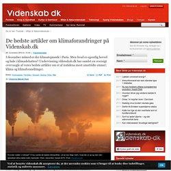 De bedste artikler om klimaforandringer på Videnskab.dk