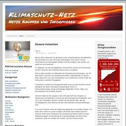 Klimaschutz-Netz - Unsere Intention