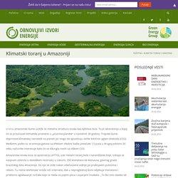 Klimatski toranj u Amazoniji