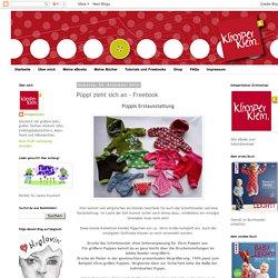 klimperklein: Püppi zieht sich an - Freebook