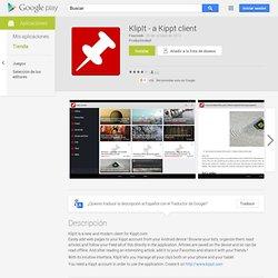 KlipIt - a Kippt client