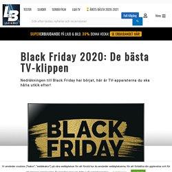 Nu kan du göra ett TV-klipp! – Black Friday 2020: De bästa TV-klippen