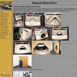 Klipsch Bass-Horn