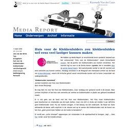 Media Report : Huis voor de Klokkenluiders zou klokkenluiden wel eens veel lastiger kunnen maken