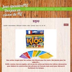KLOO - Blog pédago pour le FLE
