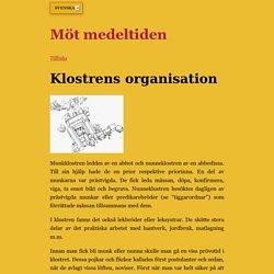 Klostrens organisation