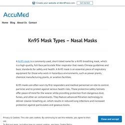 Kn95 Mask Types – Nasal Masks