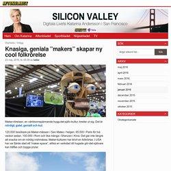 """Knasiga, geniala """"makers"""" skapar ny cool folkrörelse - Silicon Valley"""