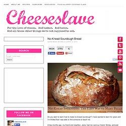 No-Knead Sourdough Bread
