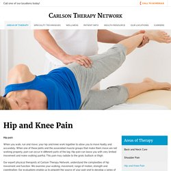 Hip and Knee Pain Treatment in New Milford CT