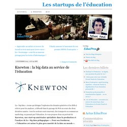 Knewton : la big data au service de l'éducation