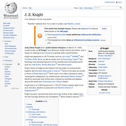 J. Z. Knight