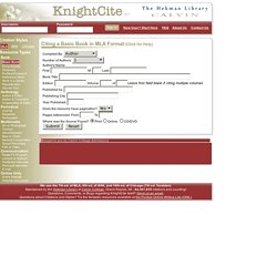 KnightCite Citation Service