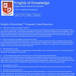 Knights of Knowledge FAQ