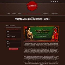 Camelot Restaurant - Valentine dinner restaurant in Bahrain